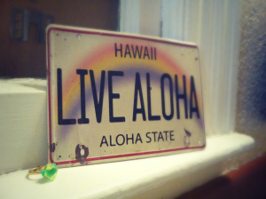 live aloha 31 days of writing